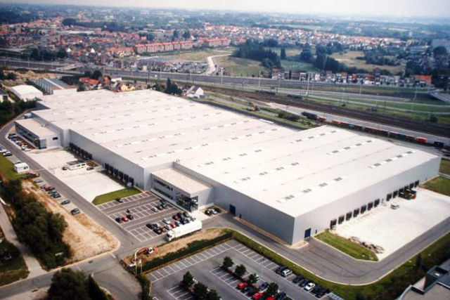 Makita has rented a new distribution center in Antwerp